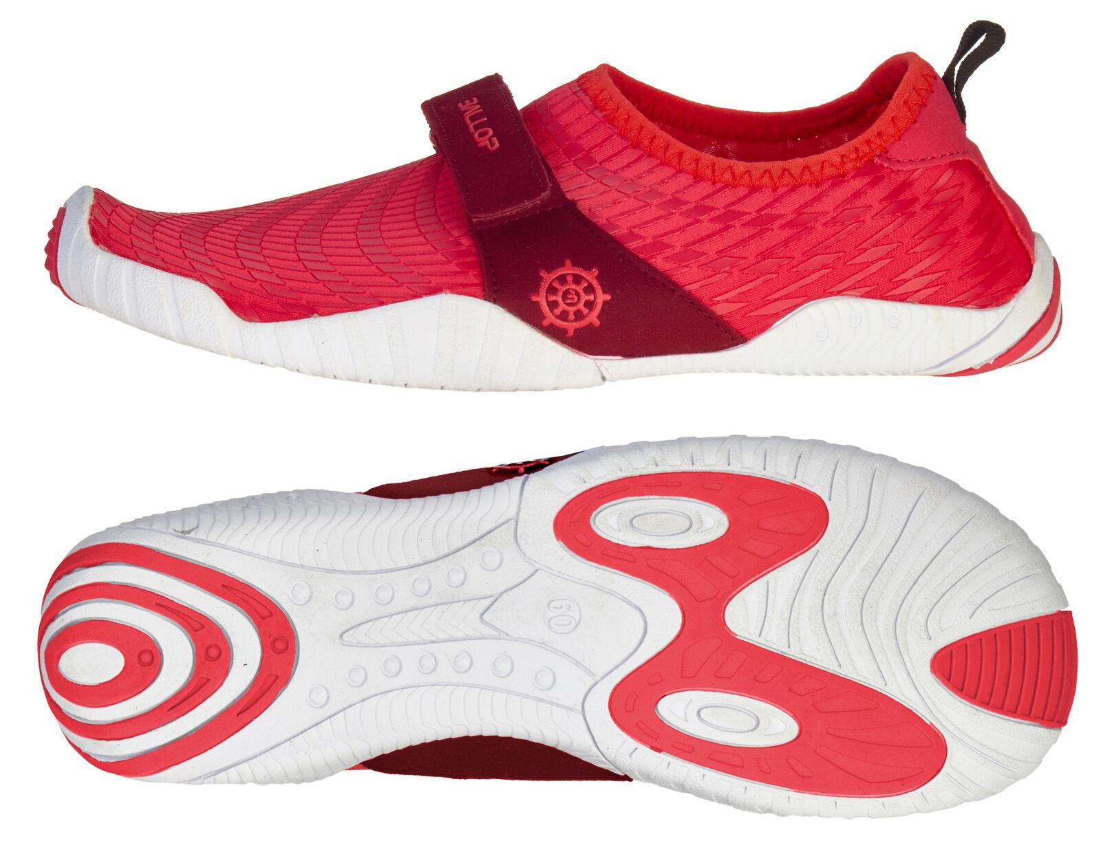 BALLOP Schuhe  Patrol rot , V2-Sohle - Barfußschuh - Funktionsschuh