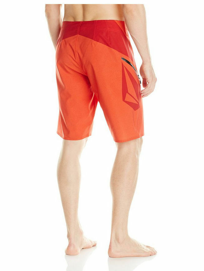 NEW VOLCOM board shorts STONEY  MOD TECH 4way stretch red  30 32 33 34 38