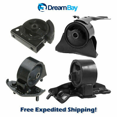 Eng Motor /& Trans Mount Set 4PCS for 1993-1997 TOYOTA COROLLA 1.6L for Auto /& MT