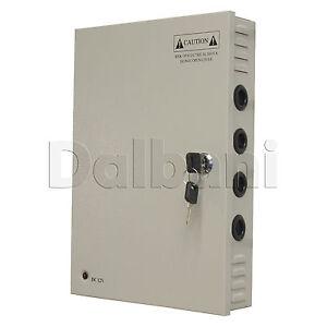 JC-350-12-Wall-Mount-Power-Supply-30-A-12-V-18-port-for-CCTV-Camera-DVR-System