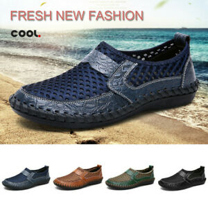 Men-039-s-Mesh-Quick-Dry-Water-Shoes-Breathable-Lighweight-Beach-Surf-Board-Shoes