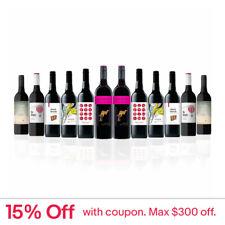 Mixed Aussie Red Wine feat. Yellow Tail Shiraz Grenache (12 bottles)