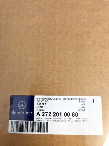 Mercedes Water Pump Gasket C230 C280 C350 CLK350 ML350 R350 Genuine 2722010080