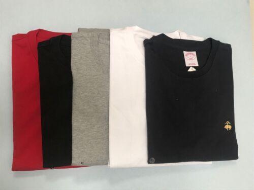 NWT 1818 BROOKS BROTHERS Men/'s Basic Classic 100/% Cotton T Shirt
