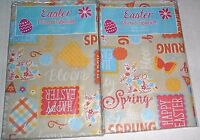 Easter Vinyl Tablecloths Assorted Sizes Happy Easter Spring Has Sprung