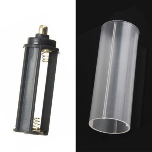 18650 Akku Tube AAA Batterie Holder Für Außensport Taschenlampe Lampe