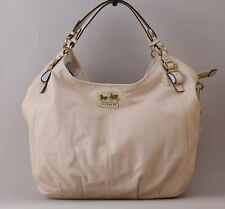 Coach MADISON SHOULDER BAG Large Bone Milk Leather Hobo 15958 BRAND NEW w/ Tags