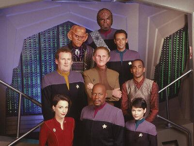 "Alexander Siddig Deep Space Nine UNSIGNED 6/"" x 4/"" photo Star Trek L9922"