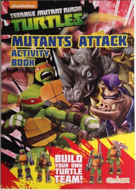 Teenage Mutant Ninja Turtles Mutants Attack Activity Book