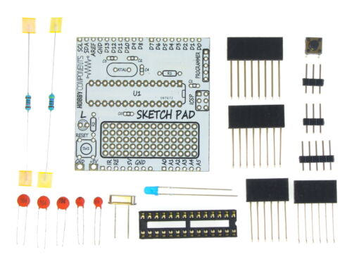Exclusive to Hobby Components The Arduino Sketch Pad Kit!