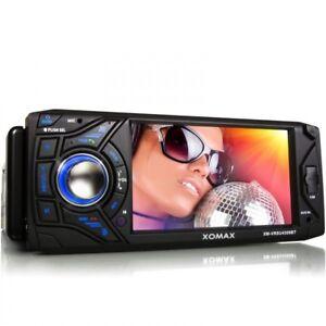 AUTORADIO-MIT-11cm-TOUCHSCREEN-BLUETOOTH-USB-SD-MP3-1DIN-MONICEIVER-OHNE-CD-DVD