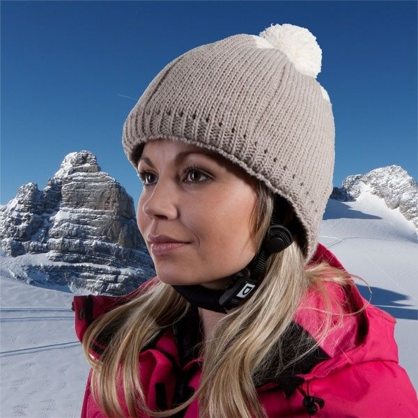 Helt-Pro protective helmet for skiing and snowboarding Pompon Island