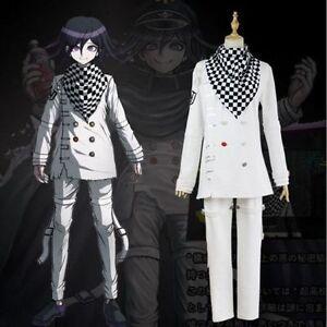 NEW Danganronpa V3 Ouma Kokichi School Uniform Cosplay costume cloak Unisex#2