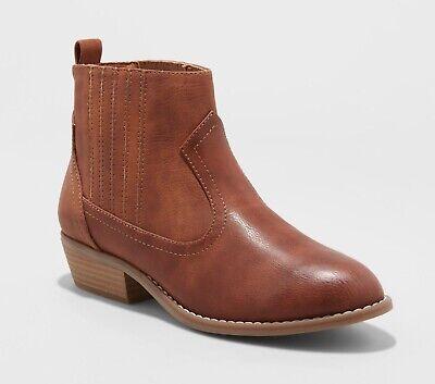 NEW NWT Women's Size 6  Universal Thread Cognac Georgia Western Brown Boots
