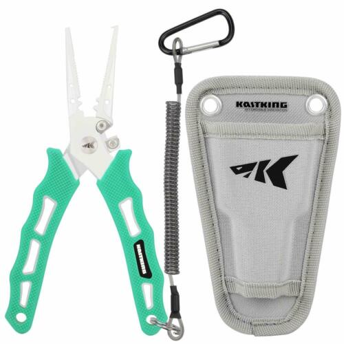 """Details about  /KastKing Cutthroat 7"""" Fishing Pliers Split Ring// Straight Nose Line Cutter"""
