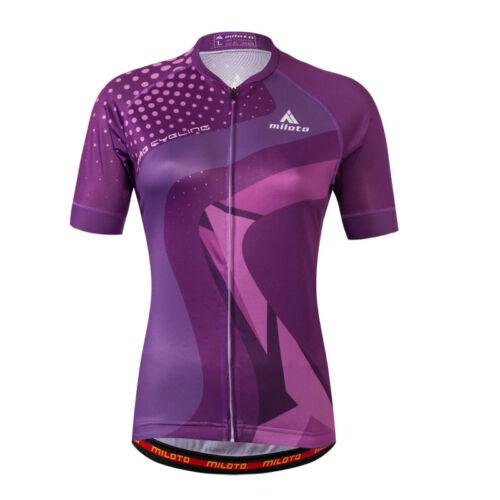 Women/'s Bike Jersey and Shorts Set Couple Cycling Kit Blue Purple Men/'s