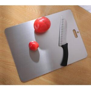 Tagliere da Cucina, Tagliere In Acciaio Inossidabile Antimicrobico