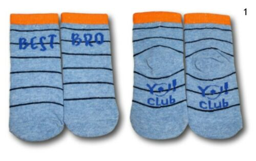 3 Years Blue Grey Baby Toddler Boys Kids Cotton Soft Fun Cute Socks 9 Months