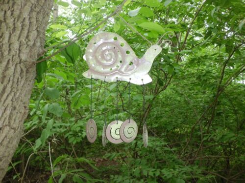 Outdoor Garden Collection  Decor Wind Chimes Frog Turtle Lady Bug Snail