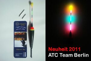 2 Batterie SEGELPOSE RAUBFISCH LED POSE ELEKTRO POSE 20g inkl NEUHEIT YAD