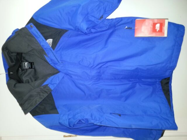 d300a2014 The North Face Mens Windwall 2.0 Triclimate Jacket 3in1 Fleece Coat M Blue