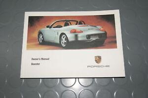 1999 porsche boxster 986 owners manual book ebay rh ebay co uk Porsche Boxster Repair Manual PDF 1999 Porsche Boxster Interior