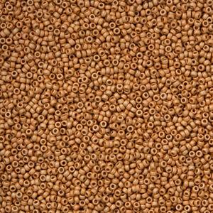 Miyuki-15-0-Beads-15-4203F-Duracoat-Galvanized-Matte-Yellow-Gold-8-2g-N14-6