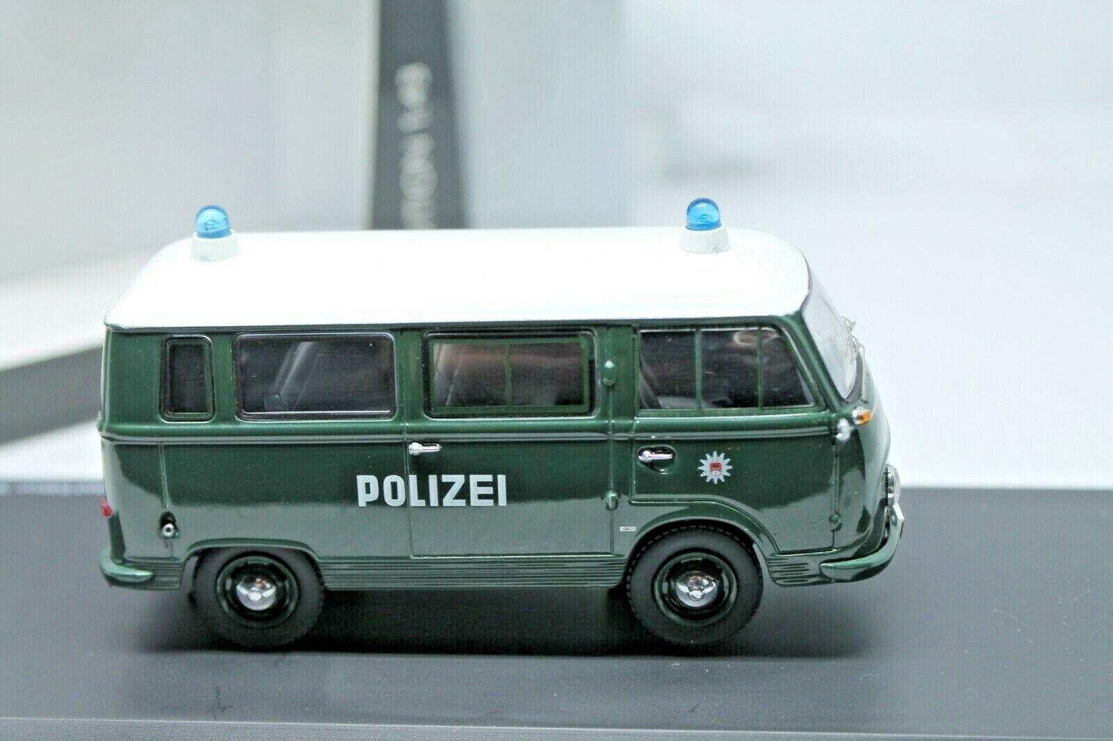 ¡envío gratis! Schuco  ford transit transit transit 1000  policía Hamburgo  1 43  OVP  Centro comercial profesional integrado en línea.