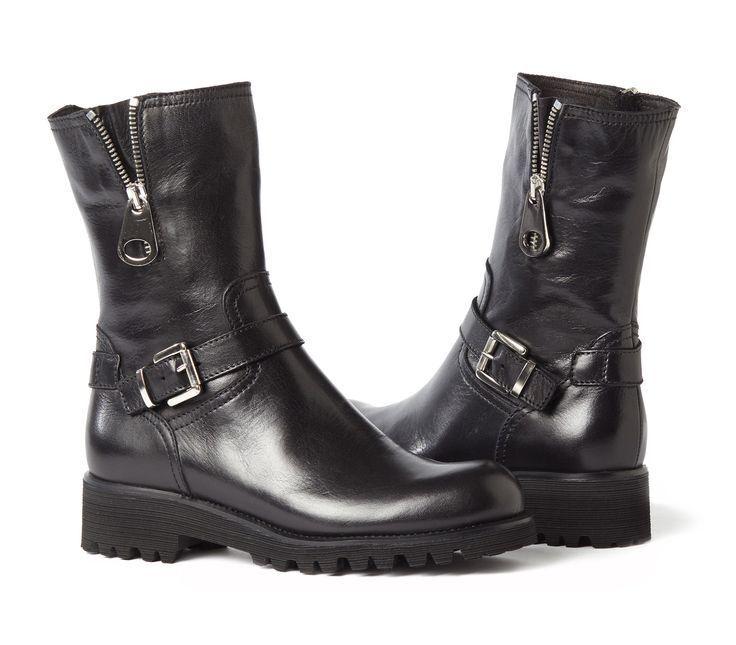 moda classica Apia Donna  Massima Leather Biker stivali, EU 35 35 35   US 5  consegna gratuita e veloce disponibile