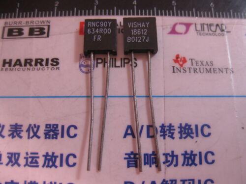 1x RNC90Y 634R00 FR Vishay RNC90 Series Metal Foil Resistors Y0089634R000FR0L