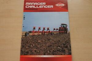 157795) Kuhn Aufsattelpflug Manager Challenger Prospectus 08/2007-afficher Le Titre D'origine