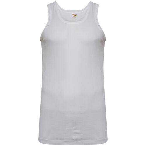Mens vest SOFTY Gym Vest Sleeveless Tee small to 10XL ORIGINAL RIB