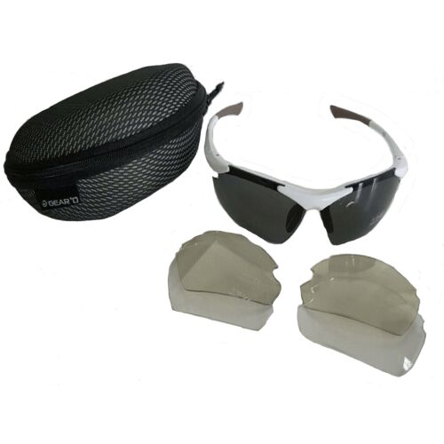 Sunglasses UVA 400 Protection Three Different Sets of Inter-Changeable Lenses