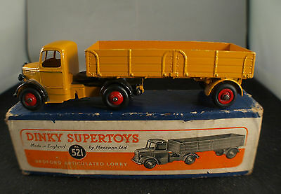 521 Lastwagen Bedford Artikuliert Lkw In Schachtel Little Sparen Sie 50-70% Modellbau Auto- & Verkehrsmodelle Stetig Dinky Spielzeug Gb Nr