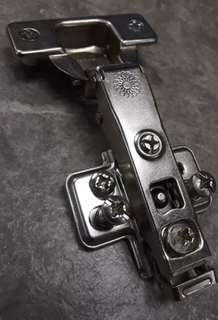 Ferrari Stainless Steel Clip On Hinges With Plates Cabinet Hinges Home Garden
