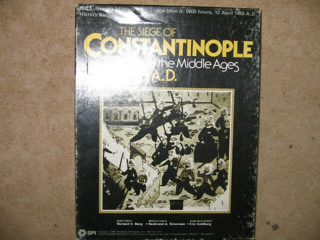 Board game THE SIEGE OF CONSTANTINOPLE - noch unbespielt