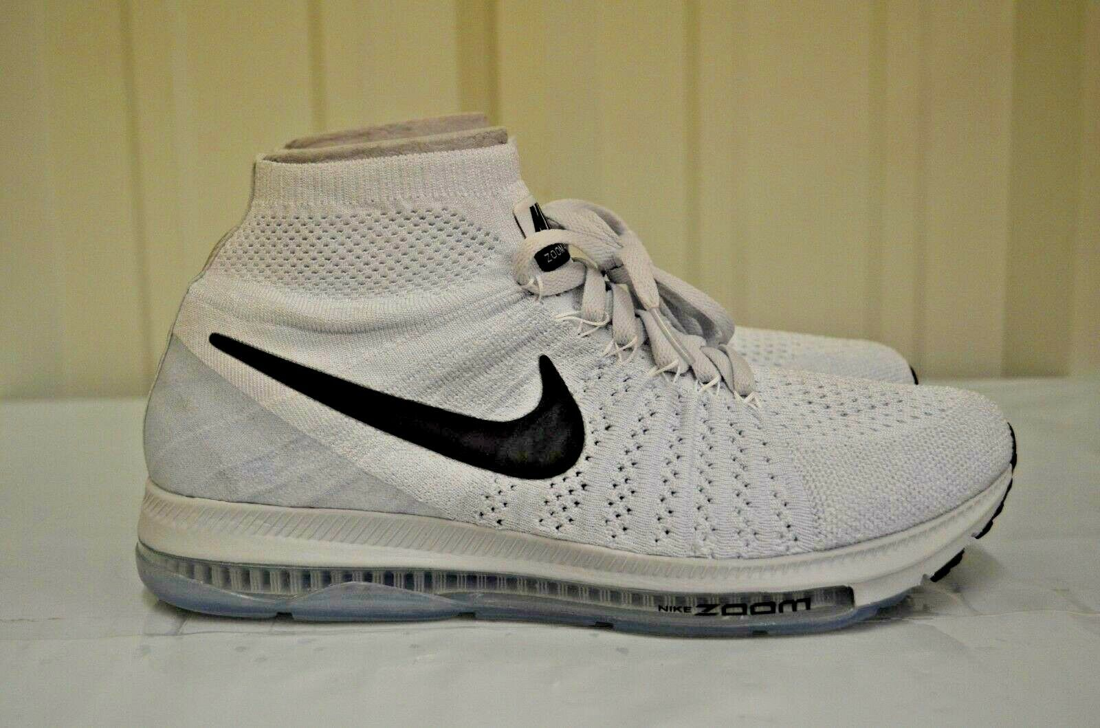 Women's Nike Zoom All Out Flyknit White White White Black Pure Platinum running 845361-100 49a234