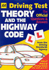 AA Driving Test: Theory and the Highway Code by Automobile Association (Paperback, 2002)