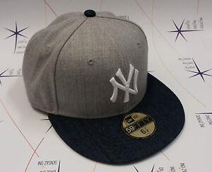 Caricamento dell immagine in corso Cappello-New-Era-originale-NY -Yankees-grigio-denim- 358251272fee
