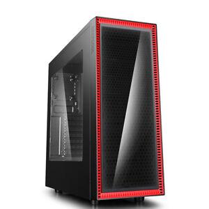 Case-pc-Gaming-Atx-Deepcool-Middle-Tower-Visckase-Black-con-2-USB3-0-2-0