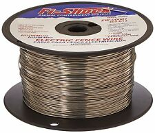 FW-00001T 1/4 Mile, 17 Gauge Spool Aluminum Electric Fence Wire Rust Resistant