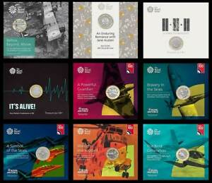 2017-2018-2019-Royal-Mint-BU-Two-Pound-2-Coins-Various-Years-BUNC