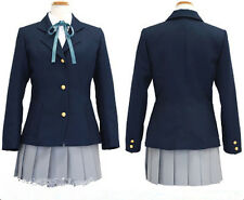 K-on Hirasawa Yui Uniform Halloween Cosplay Costume Any Size