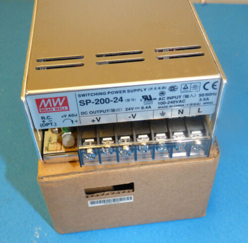 New Mean Well SP-200-24 Switching power supply
