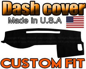 Fits Toyota Tacoma Truck 2005-2015 Carpet Dash Board Cover Mat Black