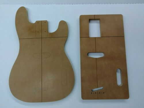 HalfBreed Guitars 51 T-Bass Routing Template Set