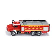 "Siku 2109 Mercedes Zetros ""Feuerwehr"" rot Großlöschfahrzeug Maßstab 1:50 NEU!°"