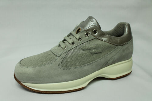 Sneakers Frau 46C5 grigio tipo Hogan Interactive Made in Italy list €125-25/%
