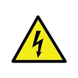 Danger High Voltage Sign Warning Car Vinyl Sticker