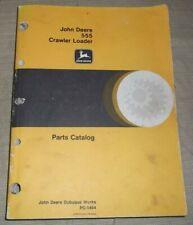 John Deere 555 Crawler Loader Parts Manual Book Catalog Pc 1464